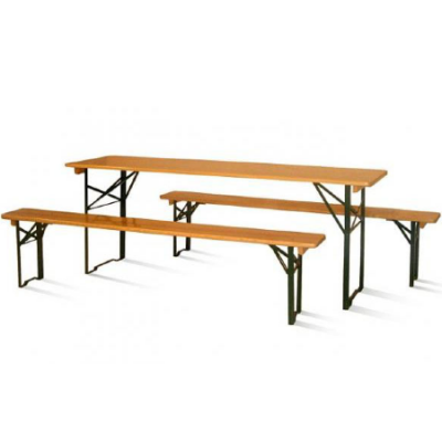 Beertable with 2 benches
