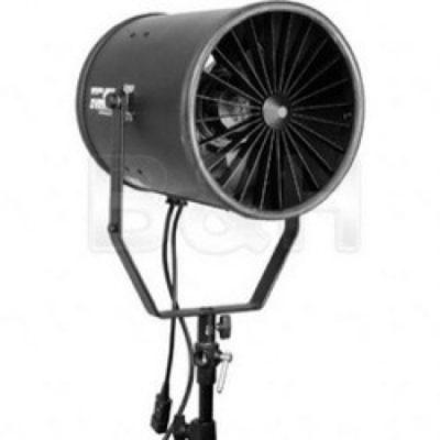 Bowens jet stream Fan with variable speed , 2400 rpm with stand