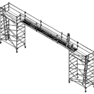 Scaffold Bridge 6,5m