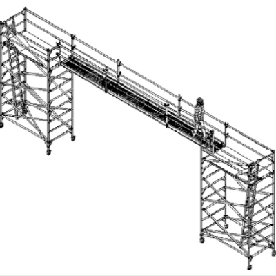 Scaffold Bridge 7,5m