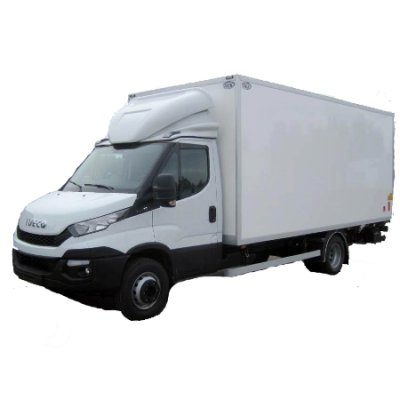 Small transport truck with Lift