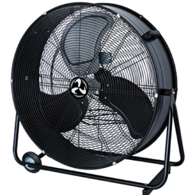 trommel fan 80 cm , 2 speed ,black =(break the air)