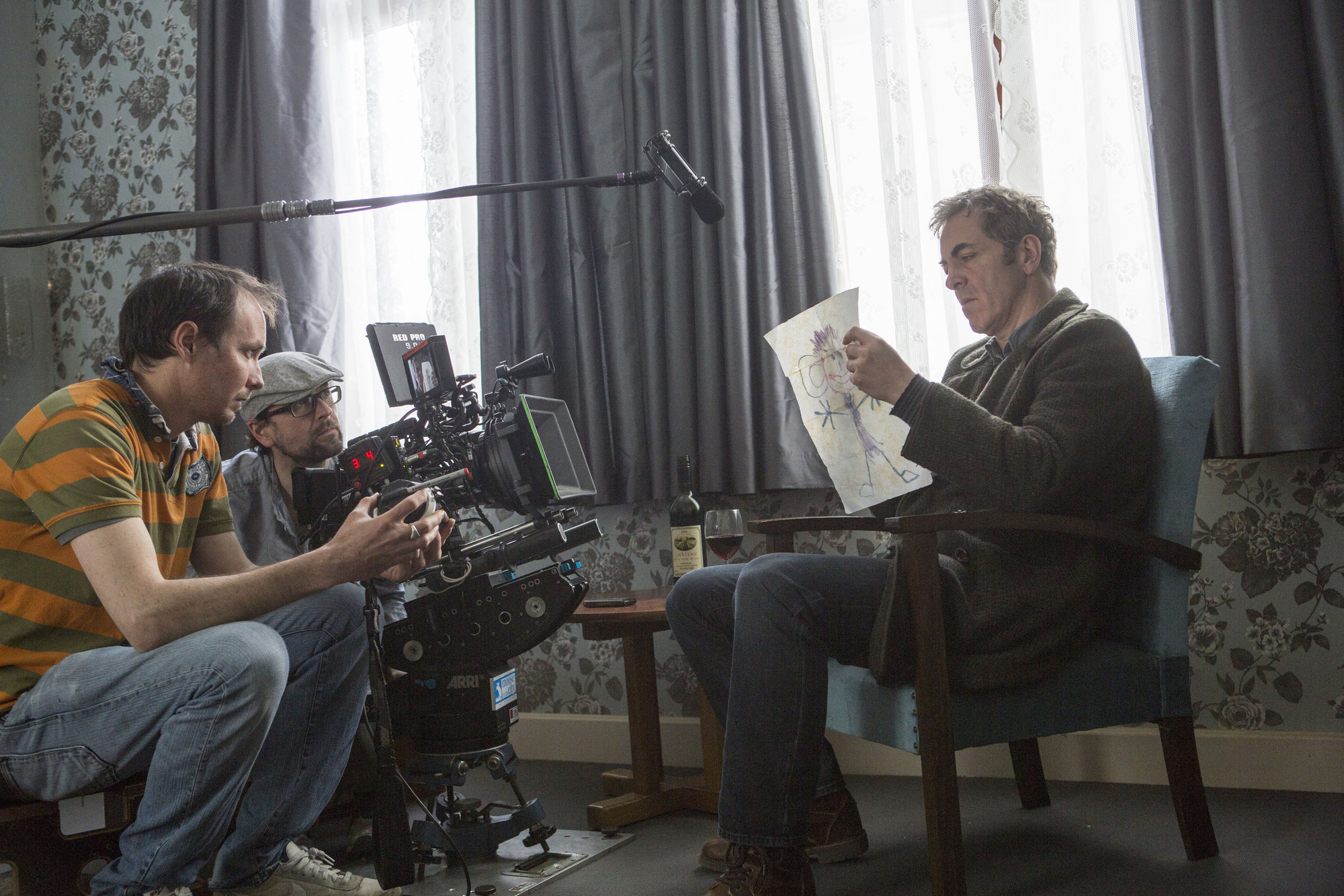 Programme Name: The Missing - TX: n/a - Episode: behind the scenes (No. n/a) - Picture Shows: Tony (JAMES NESBITT) - (C) New Pictures Ltd 2014 - Photographer: Jules Heath